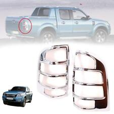 For 2006-2008 Ford Ranger PJ Pickup Tail Lamp Cover Chrome Trim Pair