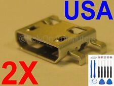 2X New Lot of Micro USB Charging Port Sync For LG V10 H900 H901 H961N VS990 USA