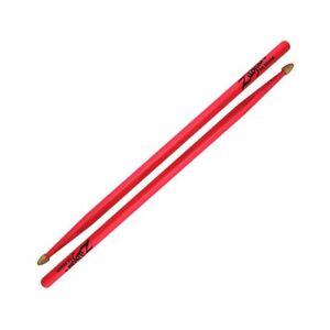 Zildjian Z5AACDGP 5A Acorn Wood Neon Drumsticks - Pink - Pair Sticks
