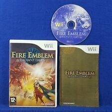 wii FIRE EMBLEM Radiant Dawn A Strategy RPG Game Nintendo PAL UK Version