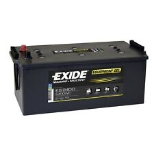 Batterie decharge profonde EXIDE equipement GEL ES2400 12v 210ah 513X279X240MM
