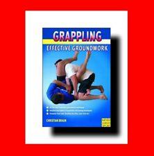☆MARTIAL ARTS BOOK:GRAPPLING: EFFECTIVE GROUNDWORK TECHNIQUES/JUDO+JIU-JITSU%+MO