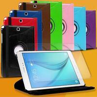 Klapphülle drehbare Tasche Case Hülle Flip Cover Tablet Etui + Schutz Folie
