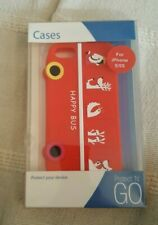 I PHONE I5 / I5S MOBILE PHONE COVER HAPPY BUS NEW