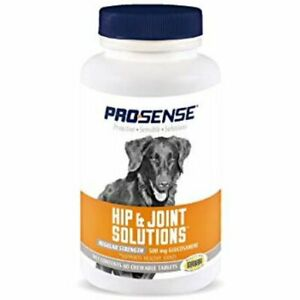 Pro-Sense Hip & Joint Solutions For Dogs Regular Strength 60 Chewable Tablets