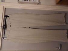 ladies linen trousers size 16