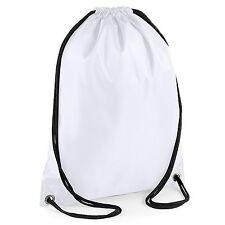 2x Boys/Girls School PE Bag Waterproof Drawstring Backpack Swim Shoes Gym Bag