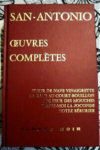 SAN-ANTONIO - OEUVRES COMPLETES - FLEUVE NOIR 1996 - TOME 1 - TBE