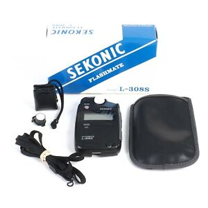 :Sekonic Flashmate L-308S Ambient & Flash Handheld Light Meter - Boxed (GH)