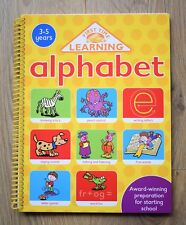 Pre school Learn Alphabet ABC Activity Book Educational Children 3 4 5 kid write