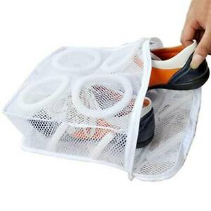 1pc Mesh Laundry Bag Shoes Machine Washing Drying Sneakers Protective Pouch Bag