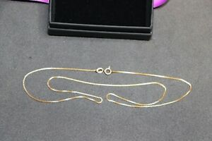 22ct Gold Chain Necklace 4.42 grams 20 inch Long Never Been Worn So It's In Mint