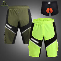 Cycling Shorts Men's MTB DH Mountain Bike Shorts Summer Pants Sport Baggy Shorts