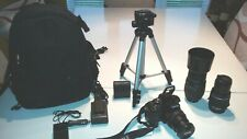 PENTAX K-S2 camera (complete kit fully equipped with 3 lens and all acc)