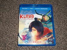 KUBO & THE TWO STRINGS : BLU RAY + DVD + DIGITAL DOWNLOAD - IN VGC (FREE UK P&P)