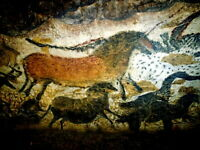 Lascaux Cave Painting Ancient Art Wall Print POSTER FR