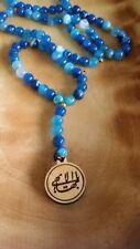 Baha'i prayers beads 95 gemstones natural beads Bahai gift from Haifa