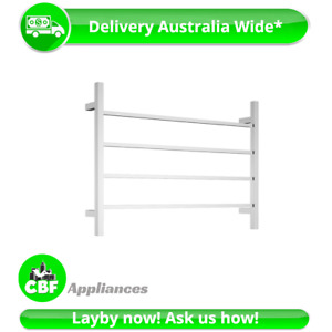 Square 4 Rung Bathroom Towel Ladder 500 x 700mm Stainless Chrome Non Heated