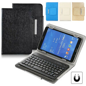 For LG G Pad 10.1inch Tablet Universal Folio Leather Case With Wireless Keyboard