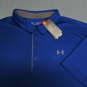 UNDER ARMOUR POLY GOLF SHIRT--3XL TALL--KEEPS YOU COOL--UNWORN!!--NEW!!TAGS!!