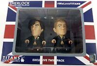 TITAN BBC Sherlock Holmes & John Watson 2-Pack Wedding Suits 3 Inch POP Figures
