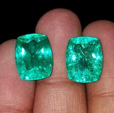 Natural Emerald Loose Gemstone 7 to 9 cts Certified Pair Best Offer