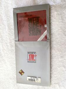 WEST SIDE STORY SEALED ORIGINAL SONY BROADWAY PROMO LONGBOX CD NATALIE WOOD BOX