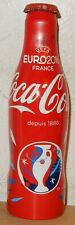 COCA COLA EURO 2016 SOCCER alu bottle can from FRANCE (25cl)