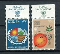 19165A) United Nations (New York) 1982 MNH Environement + Lab