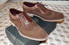 Loake Floyd nuevos, ante marrón, estilo Oxford, talla 42, 8 UK amplio