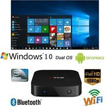 TV Box Mini PC Intel Z3735F  Windows 10 & Android 4.4  Quad Core Dual OS 2G+32G