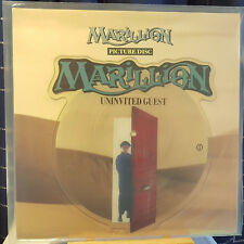"Marillion ‎– Uninvited Guest - 7"" single Picture Disc - MARIL PD 11 shaped MINT"