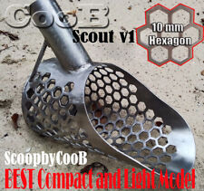 *SCOUT v1* Smal Beach Sand Scoop Stainless Steel Hunting Detector Tool by COOB