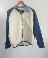Nike ACG All Conditions Gear L Womens Beige Blue Outer Layer 3 Bicycle Jacket