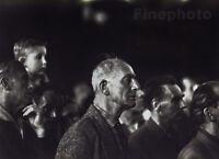 1964/80 Original TIBOR HONTY Czech Man Human Drama Silver Gelatin Fine Art Photo