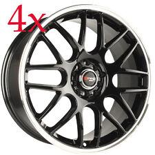 Drag Wheels DR-34 17x7.5 5x105 5x110 Gloss Black Rim For Holden Cruze Opal Ls Lt