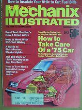 Mechanix Illustrated Magazine November 1974