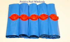 New 1' x 8' Pool Cover Winter Water Tubes 16 Gauge 5 Pack