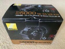 Nikon D5000 DSLR 18-55 VR Camera Kit