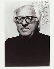 Ray bradbury original autografiada en grande foto