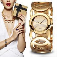 Mode Damen Uhr Armbanduhr Quarzuhr Analog Stahlband Watch Geschenk