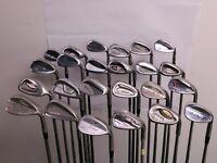 Lot of 24 Golf Club Wedges Titleist Callaway Cobra Cleveland Hogan MSRP $2200