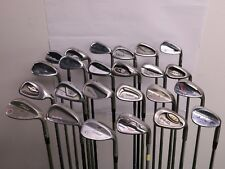 Lot of 24 Golf Club Wedges Titleist Callaway Cobra Cleveland Hogan MSRP $2200