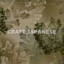 Lecien Archive Leaf Pattern Japanese Quilt Patchwork Tree Fabric 1/2 Half Yd G