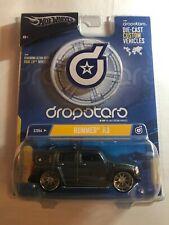 Hot Wheels Dropstars Hummer H3 Gray 1:50 Scale