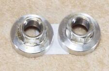 2001 MARZOCCHI Bomber Z2 Superfly 2X alliage d'argent pied Nuts Set Classic Vintage