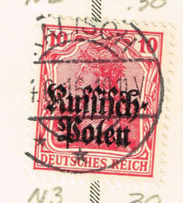 Germany WWI Poland Occupation  stamps 1915 #3 Kalush Postmark