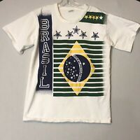 vintage Brasil Tee T Shirt Medium