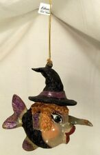 Katherine's Collection~Purple Witch Kissing Fish~Halloween Ornament~Philippines