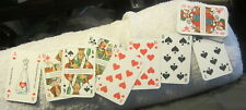 Vintage German playing cards,waste glass is a raw material altglas ist rohstoff